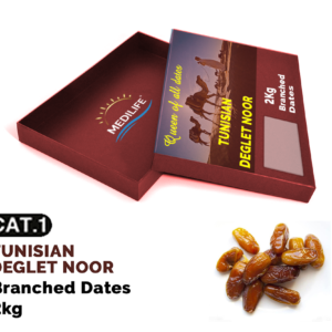 Dates Deglet Nour on Branch 2 kg