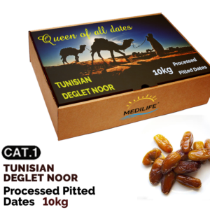 Processed pitted dates 10kg