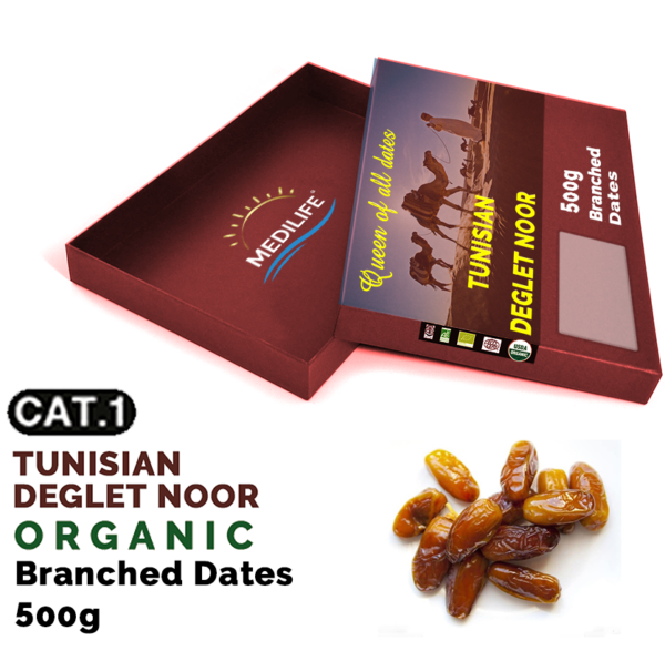 Organic branched dates 500g