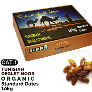 Organic standard dates 10kg