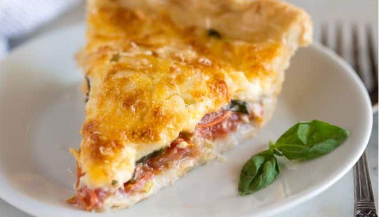 Yummy Tomato Pie Recipe