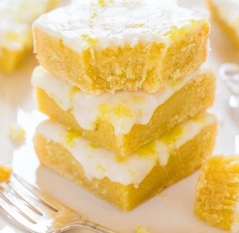 Lemon Lemonies (Brownies) Recipe