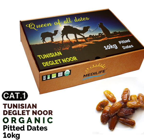 organic pitted dates 10kg